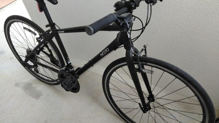 【クロスバイク】32Cから28Cに交換して体感した「違い」